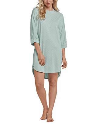 Schiesser Women's Sleepshirt 3/4 Arm, 95cm Nightie,(Size: 038)