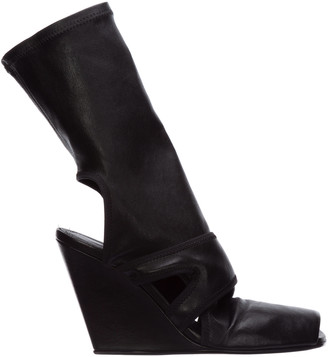 Rick Owens Flirting Heeled Ankle Boots