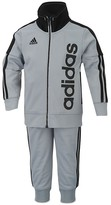 adidas Boys' High Neck Jogger Jacket & Pants Set - Sizes 2T-4T