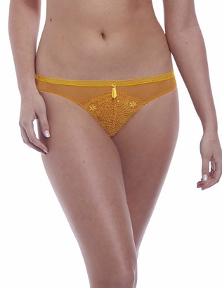 Freya Women's Expression Crochet-Look VPL-Free Lace Cheeky Brazilian Brief