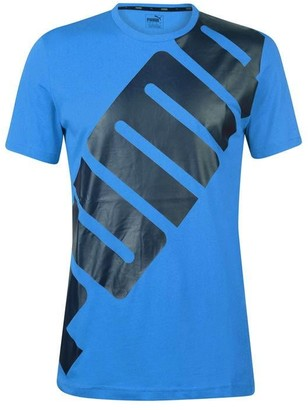 Puma Big Logo T Shirt Mens