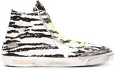 Golden Goose Deluxe Brand Francy high-top sneakers - women - Cotton/Leather/rubber - 36