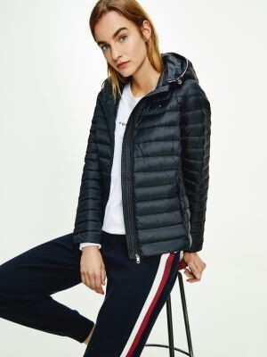 Tommy Hilfiger Essential Down-Filled Quilted Hooded Jacket
