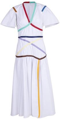 Rosie Assoulin Criss Cross Applesauce Dress