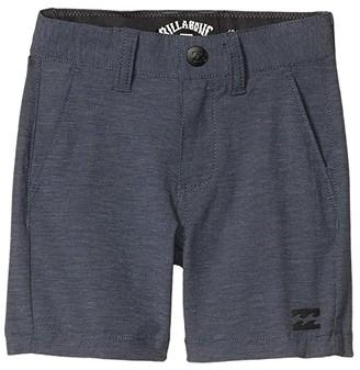 Billabong Kids Crossfire Shorts (Toddler/Little Kids) (Navy) Boy's Shorts