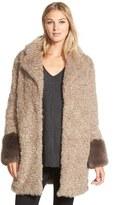 Laundry by Shelli Segal Women's Faux Fur Coat