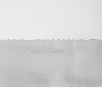 Ralph Lauren Home Langdon Flat Sheet - Silver - King / Super King