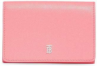 Burberry Small Grained Leather Bifold Wallet