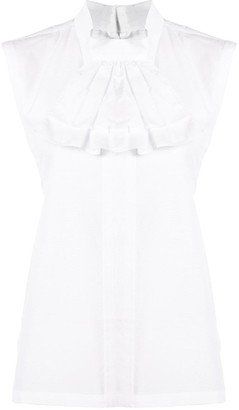 Comme des Garcons Ruffle Detail Long-Sleeved Shirt