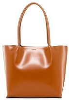 Lodis Audrey Ebony Leather Tote