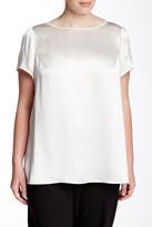 Lafayette 148 New York Rosie Silk Blouse (Plus Size)