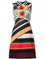 Mary Katrantzou striped print dress