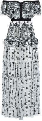 Self-Portrait Self Portrait Deco Sequin Maxi Dress