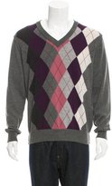 Dolce & Gabbana Virgin Wool Argyle Sweater