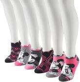 Disney Women's 6-pk. Minnie Mouse No-Show Socks