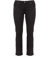 Jette Joop Plus Size Embellished slim fit jeans