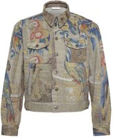 Dries Van Noten Parrot Print Jacket