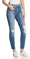 Mother The Dazzler Shift Distressed Jeans in Your Treat or Mine