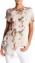 Luma Floral Short Sleeve Blouse