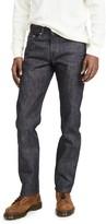 Naked & Famous Denim Blue Selvedge Weird Guy Jeans