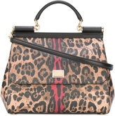 Dolce & Gabbana leopard Sicily top-handle tote - women - Calf Leather - One Size