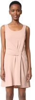 Maiyet Draped Fit & Flare Dress