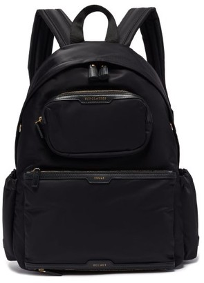 Anya Hindmarch Cycling Recycled-canvas Backpack - Black Multi