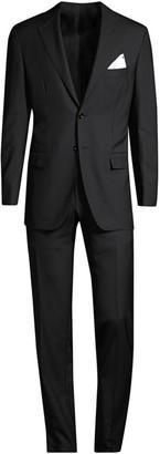 Kiton Regular-Fit Classic Wool Suit