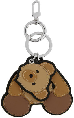 Palm Angels Brown Bear Keychain