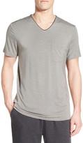 Daniel Buchler Modal Blend V-Neck T-Shirt