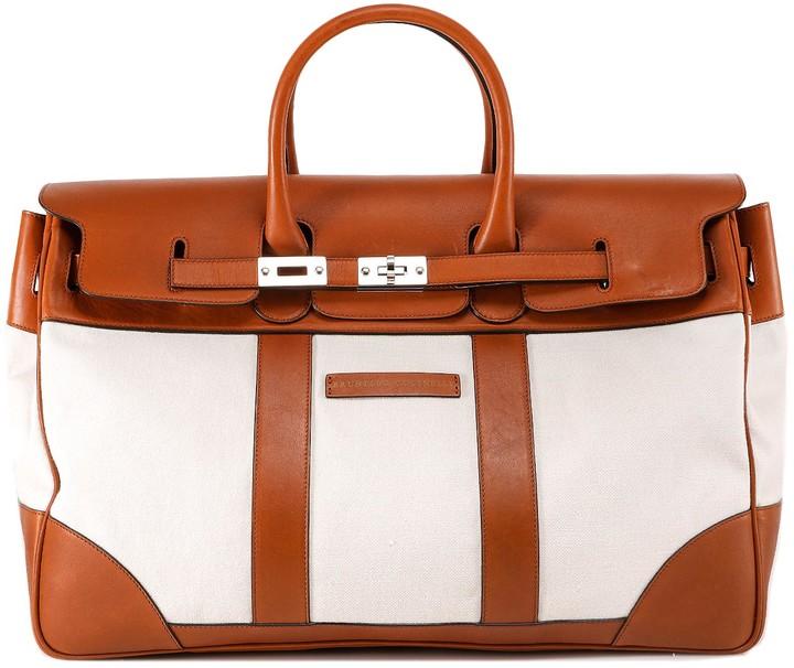 Brunello Cucinelli Panelled Holdall Bag