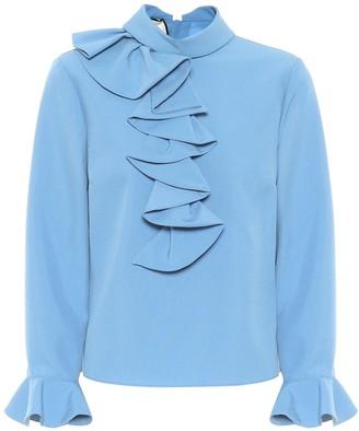Gucci Ruffled blouse