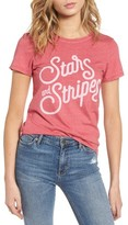 Junk Food Clothing Women's Stars & Stripes Graphic Tee