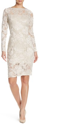 Marina Lace Long Sleeve Dress