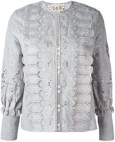 Sea broderie anglaise blouse