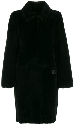 Fendi Straight Fur Coat