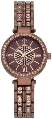JLO by Jennifer Lopez Women's Bethany Crystal Watch