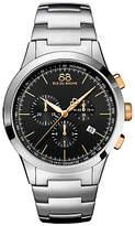 88 Rue du Rhone 87WA154303 Men's Rive Chronograph Bracelet Strap Watch, Silver/Black