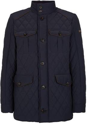 Hackett Diamond Quilted Jacket