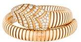 Bvlgari 18K Serpenti Tubogas Diamond Bracelet