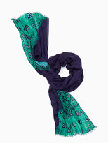 Kate Spade Plume oblong scarf