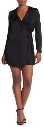 Young Fabulous & Broke YFB by Blazer Long Sleeve Wrap Mini Dress