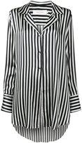 Marques Almeida Marques'almeida - oversized pinstripe shirt - women - Silk - S