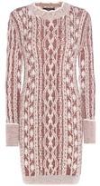 Isabel Marant Mouliné Wool Sweater Dress