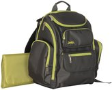 Jeep Perfect Pockets BackPack Diaper Bag - Black/Green