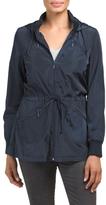 Juniors Ruffle Rain Coat