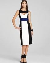 BCBGMAXAZRIA Dress - Antonella Color Block Sheath