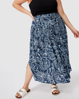 Cotton On Curve Curve Woven Maya Maxi Skirt