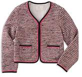 Kate Spade Girls' Tweed Jacket - Little Kid