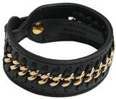 Stella McCartney Black Eco Alter Nappa Small Cuff